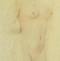 Study Nude by Fernand Khnopff