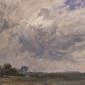 Study Of A Cloudy Sky by John Constable