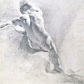 Study Of A Male Nude by  Giambattista Piazzetta