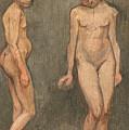 Study Of A Naked Model by Hugo Simberg