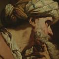 Study Of An Oriental Head by Gaetano Gandolfi