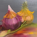 Study Of Onions by Dolores Brittain