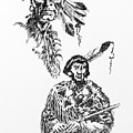 Study Of Two Indians by Dagmar Pollack