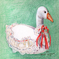 Stuffed Goose by Arline Wagner