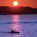 Stunning Sunset At Lake Champlain, Vt by Sven Kielhorn