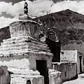 Stupa by Topjor Tenzin