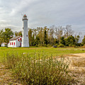 Sturgeon Point Ligthouse Lake Huron, Lower Peninsula, Mi by Jack R Perry