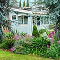 Suburban House Hayward, California 7, Suburbia Series by Kathy Anselmo
