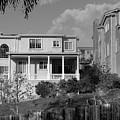 Suburban House On Hayward Boulevard Hayward California 2 by Kathy Anselmo