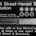 Subway 34 Street by Debbi Granruth