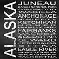 Subway Alaska State Square by Melissa Smith