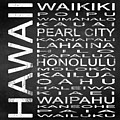 Subway Hawaii State Square by Melissa Smith