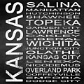 Subway Kansas State Square by Melissa Smith