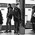 Subway Platform At 125th Street by Sarah Loft