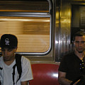 Subway Ride Nyc by David Coblitz