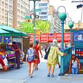 Subway Station Entrance 3 by Jeelan Clark