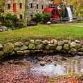 Sudbury Grist Mill #2 by Jack Peterson
