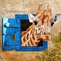 Suddenly A Giraffe by Angeles M Pomata