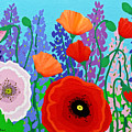 Sue's Flower Bed by Linda Rauch