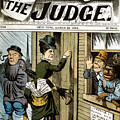 Suffrage Cartoon, 1884 by Granger