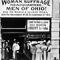 Suffrage Headquarters by Granger