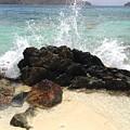 Sugar Beach Splash by Gina Sullivan