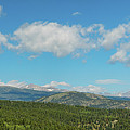 Sugar Magnolia Summer Rocky Mountain Peaks Panorama View by James BO Insogna
