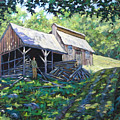 Sugar Shack In July by Richard T Pranke