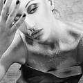 Sugared Skin 2 - Self Portrait by Jaeda DeWalt