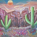 Suggestive Desert Lands by Lindsay St john
