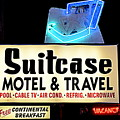 Suitcase Motel by Betsy Warner