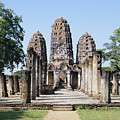 Sukhothai Khmer Sanctuary by Gloria and Richard Maschmeyer - Printscapes