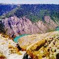 Sulak Canyon by Magomed Magomedagaev