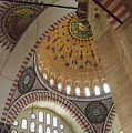 Suleymaniye Arches And Domes by Bob Phillips