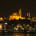 Suleymaniye At Night by Bob Phillips