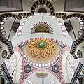 Suleymaniye Mosque Ceiling by Artur Bogacki
