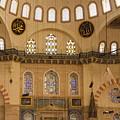 Suleymaniye Mosque Interior by Bob Phillips