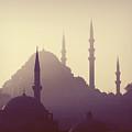 Suleymaniye Mosque by Niyazi Ugur Genca