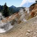 Sulfur Works In Lassen Volcanic Park by Christine Till