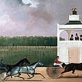 Sulky Race by Granger