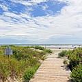 Sullivans Island Beach Entrance Two by Steve Nelson