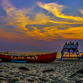 Summer Sunset In Cape May Nj by Nick Zelinsky