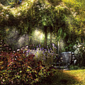 Summer - Landscape - Eve's Garden by Mike Savad