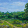 Summer Afternoon At Ashlawn Farm by Paula Emery