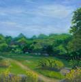 Summer Afternoon At Ashlawn Farm by Paula Emery