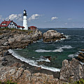 Summer Afternoon, Portland Headlight by Gary Shepard