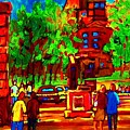 Summer At Mcgill University by Carole Spandau
