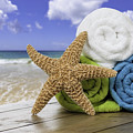 Summer Beach Towels by Amanda Elwell