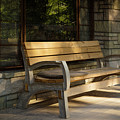 Summer Bench by Ron Jones