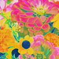 Summer Blossoms - Pop Art by Dora Sofia Caputo Photographic Design and Fine Art